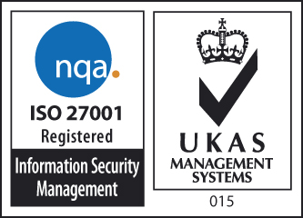 NQA ISO 27001 Registered Badge